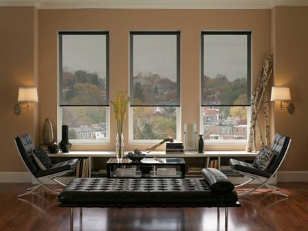 beautiful-black-roller-window-blinds-remodel-for-minimalist-apartment-living-room-with-laminated-floors-and-black-chairs.jpg