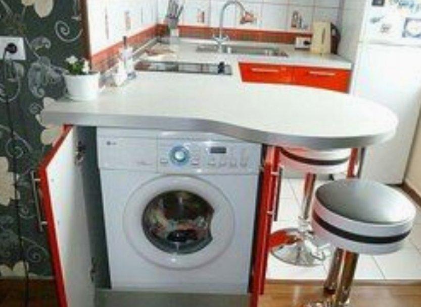 Skalbimo masina virtuveje.jpg